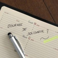 LUNDI DE PENTECÔTE ET JOURNÉE DE SOLIDARITE